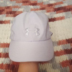 Women's Lavender Under Armour sport cap